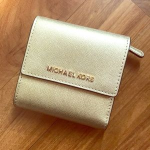 Michael Kors trifold wallet; brand new condition
